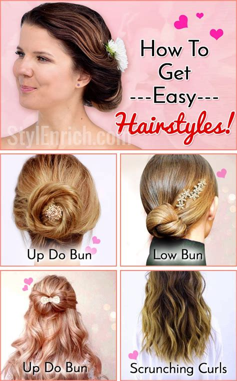 Easy Hairstyles No Product | how to get easy hairstyles with no heat and products