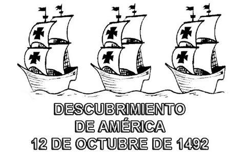 imagenes para colorear octubre actividades para el 12 de octubre descubrimiento de