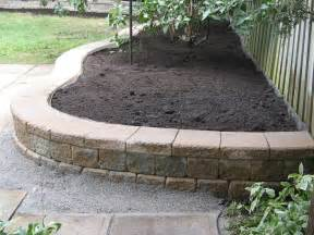landscape retaining wall blocks retaining wall about 2ft high which one to use treated