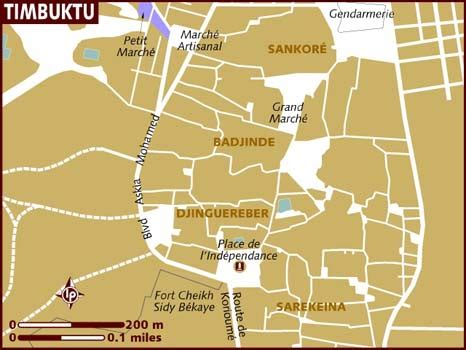 timbuktu map map of timbuktu