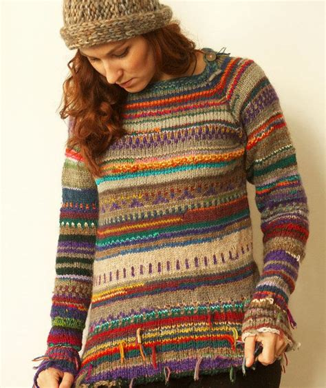 handmade striped wool sweater wool sweaters scrap and etsy
