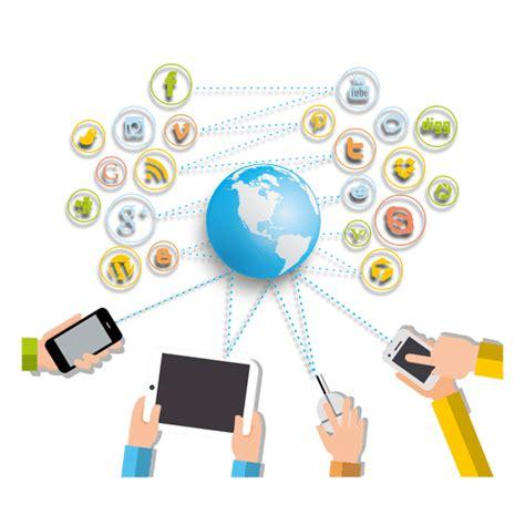 imagenes de redes sociales gratuitas aparatos interactuar redes sociales descargar png svg