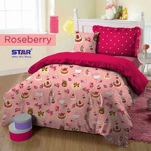 Sarung Bantal Sofa Pink Roses grosir sprei bedcover sarung kasur murah santoso