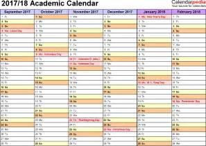 semester planner template academic calendars 2017 2018 as free printable pdf templates student academic planner semester based worksheet