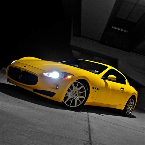 Yellow Maserati by Yellow Maserati Retina Wallpaper For Iphone X 8 7