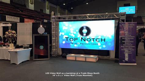 top notch beauty bar led video wall