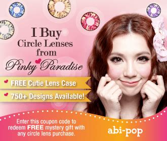 abipop's blog~☆: ☆~circle lens review: pinky paradise | g