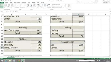 Zero Based Budget Spreadsheet Dave Ramsey by Zero Based Budget Spreadsheet Dave Ramsey Buff