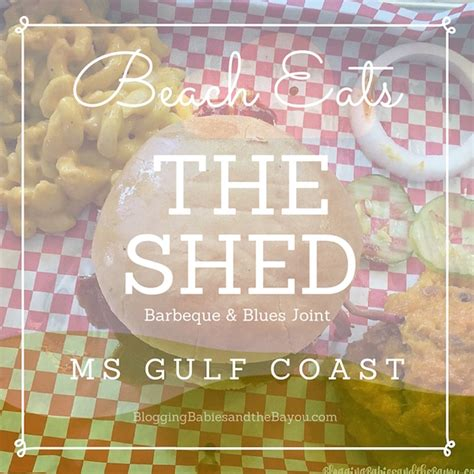 The Shed Barbeque Blues Joint Springs Ms by Eats The Shed Bar B Que And Blues Joint In Oceans