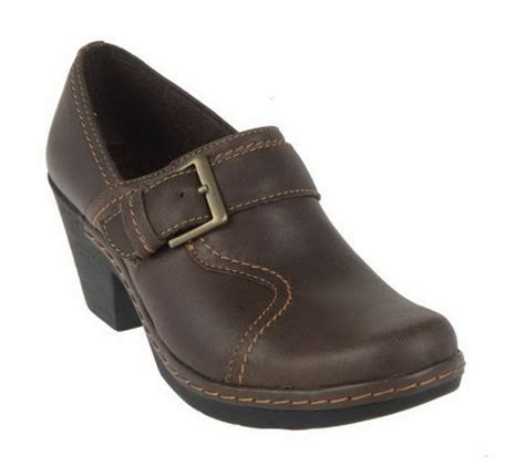 qvc clarks shoes clarks bendables leather shoes with buckle detail qvc