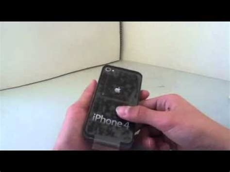How To Make An Iphone Out Of Paper - paper iphone 4 unboxing