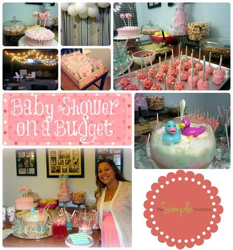 church baby shower ideas baby shower on a budget pink and gray planning