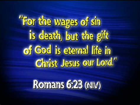 romans 6:23 niv | shout praises kids | kids videos