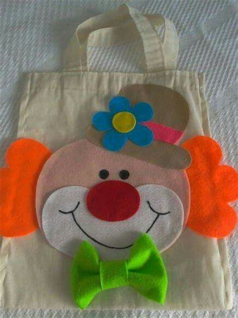 pin dulceros payaso on pinterest bolsas de manta y fieltro de payasos dulceros