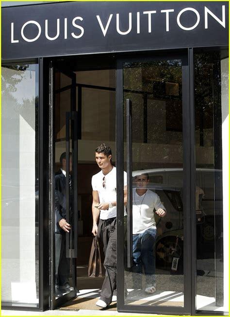 Louis Vuitton Cristiano Ronaldo With His Louis Vuitton Bag by Sized Photo Of Cristiano Ronaldo Louis Vuitton 05