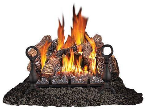 Gas Fireplace Logs And Accessories by Napoleon Fiberglow Vf24 Gvfl24 Vent Free Gas Log Set 24