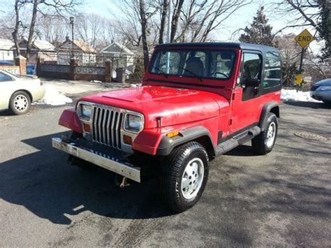 1992 jeep wrangler yj find used 1992 jeep wrangler yj 6 cylinder automatic in