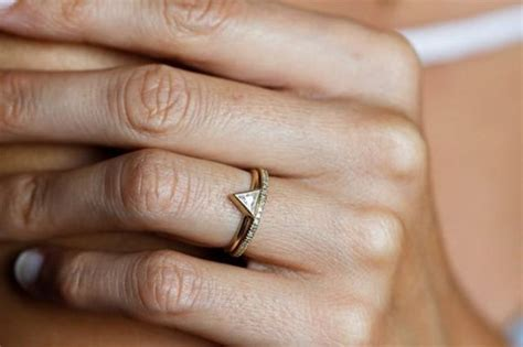 minimalist wedding rings minimalist engagement rings weddbook