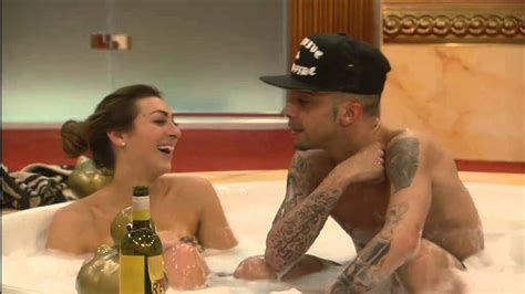 celebs forum uk dappy s kiss in the hot tub day 3 celebrity big brother