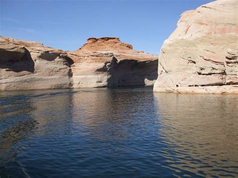 antelope point marina boat tours guided boat tour into canyon foto di antelope point