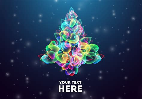 glowing abstract christmas tree psd  photoshop brushes  brusheezy