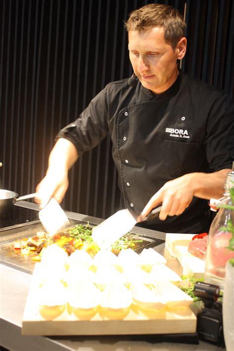 bora teppan yaki milan s eurocucina highlights in kitchen design and
