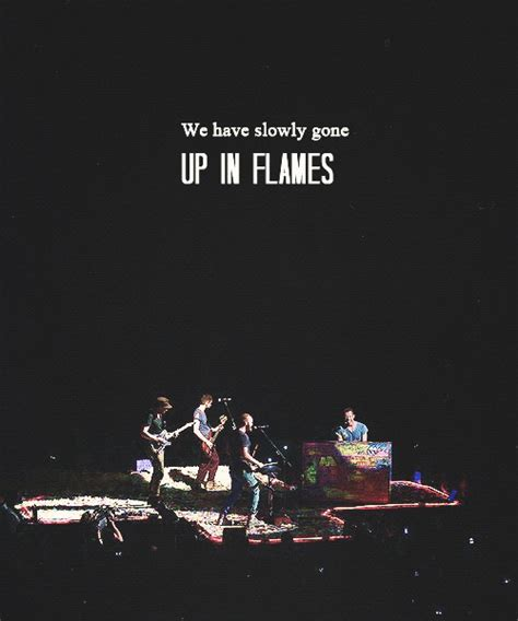 coldplay up in flames lyrics 160 best coldplay images on pinterest coldplay band