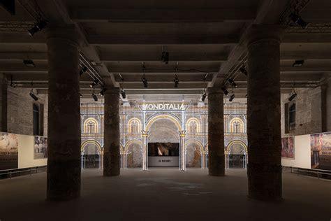 Lu Rem Led Avanza rem koolhaas frames monditalia entrance with swarovski encrusted luminaire