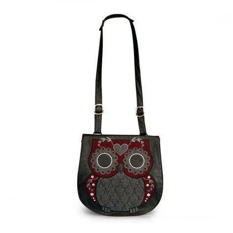 Tweed Crossbody Bag loungefly tweed owl crossbody messenger bag