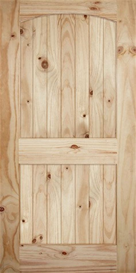 Discount 7 0 Quot Tall X 42 Quot Wide 2 Panel Arch V Grooved Barn Door Slab