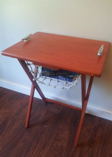 nautical themed end tables nautical end table planitdiy