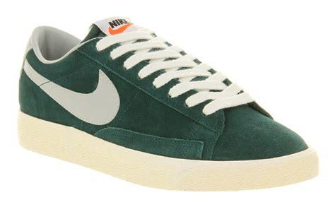 vintage nike shoes nike blazer low vintage atomic strata grey trainers