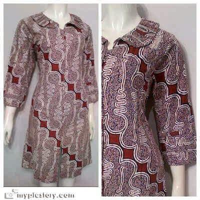 Tunik Motif 2 3 4 dress batik tunik motif klasik batik bagoes