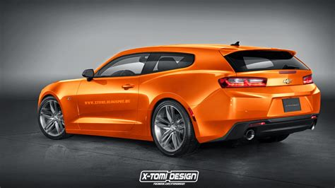 badass camaro 2016 chevrolet camaro rendered as breadvan shooting