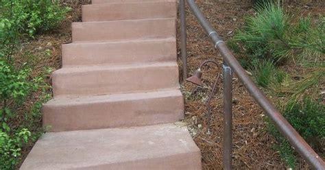 the 2 minute gardener photo landscape timber stairs the 2 minute gardener photo concrete stairs with copper