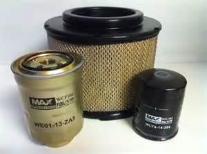 mazda bt 50 b2500 air fuel filter kit bt50 2 5l 3 0l
