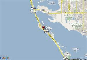 map longboat key florida map of longboat key resort longboat key