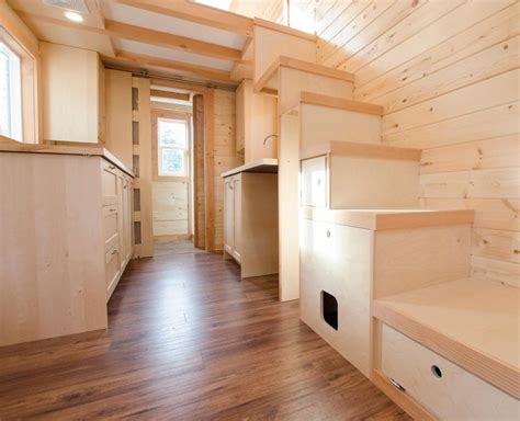 rewild tiny house on wheels tiny living warbler by rewild homes tiny living
