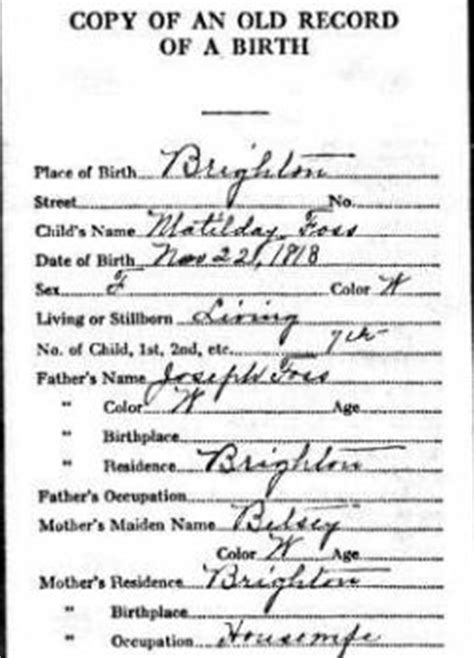 No Record Of Birth Certificate No Birth Certificate No Problem Tips For Finding Historical Birth Information