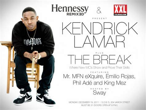 Talking Asap 1 kendrick lamar in nyc for hennessy event going on tour w