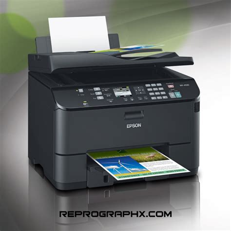 Printer All In One Epson Pro Workforce Wp 4590 epson workforce pro wp 4530 all in one network printer