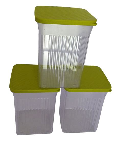 Tupperware Family Mate tupperware multicolour family mate set of 3 buy at best price in india snapdeal