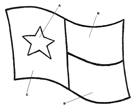 texas flag coloring page az coloring pages