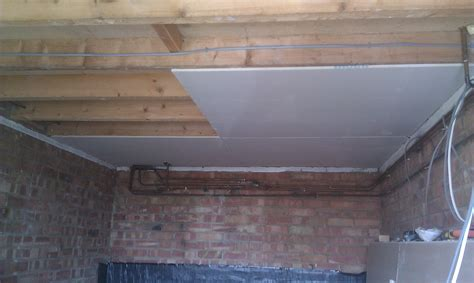 Ceiling Plasterboard replace ceiling plasterboard with new one and skim per sqm ml building direct