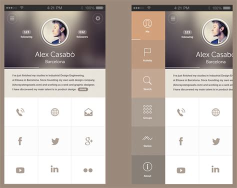 ui design idea 20 stunning exles of minimal mobile ui design