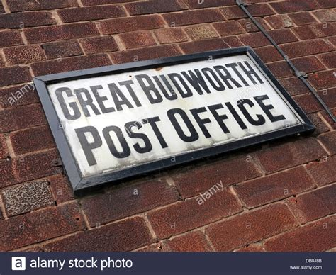 Hshire Post Office by The Post Office At Great Budworth Northwich Cheshire