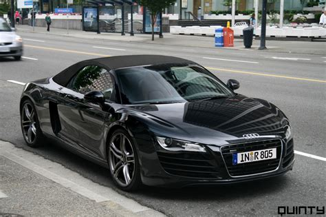 Audi R8 Schwarz by Audi Cars Audi R8 Black