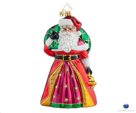 1017811 christopher radko ringing kringle ornament