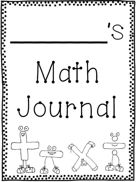free coloring pages of maths cover