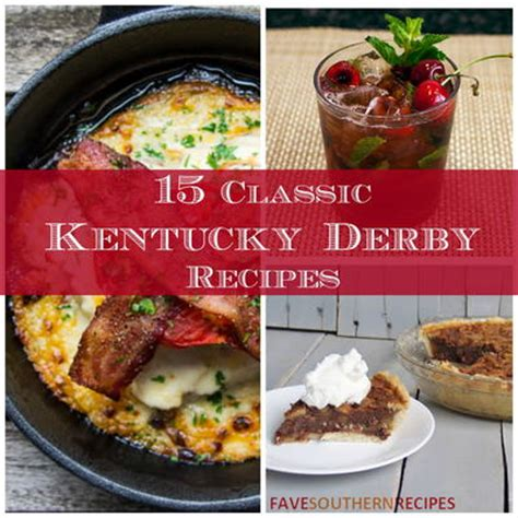 15 classic kentucky derby recipes favesouthernrecipes com